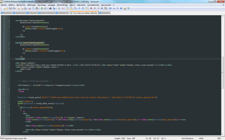 meilleur logiciel pour cr u00e9ation site web  css